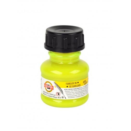 Tušas fluorescens.20ml K-I-N geltonas