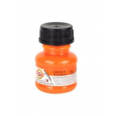 Tušas fluorescens.20ml K-I-N oranžinis