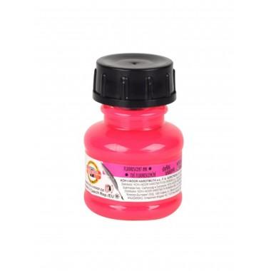 Tušas fluorescens.20ml K-I-N rožinis