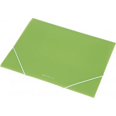 Aplankas su guma A4 EX4302 žalias