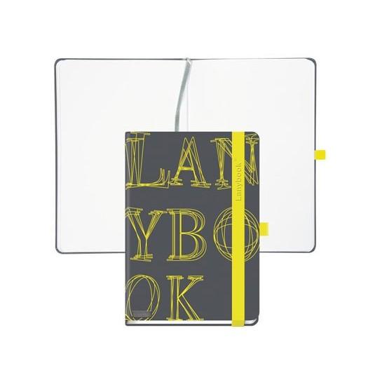 Užrašų knyga L-Y-O ,A5,192lap.,juoda