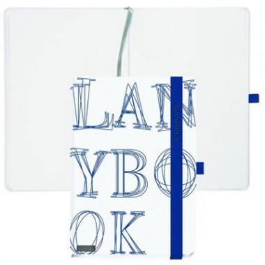 Užrašų knyga L-Y-O ,A5,192lap.balta