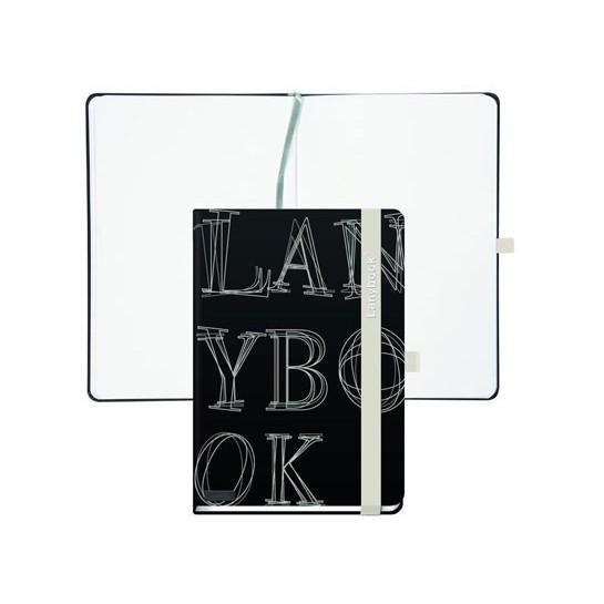 Už.knygutė L-Y-O REFLEX, A6,192lap.juoda