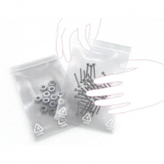 Zip-Lock maišeliai 60x80mm 50mic 100vnt