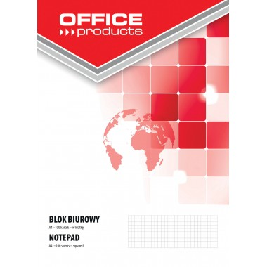 Bloknotas A4 100lapų OFFICEproducts lang.