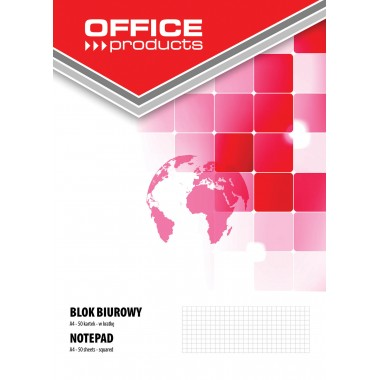 Bloknotas A4 50lapų OFFICEproducts lang.