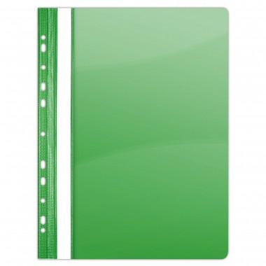 Segtuvėlis su perforacija A4 PP žalias