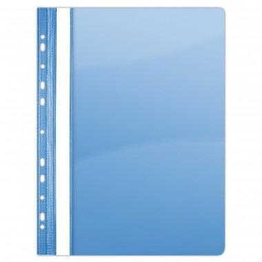 Segtuvėlis su perforacija A4 PP mėlyn