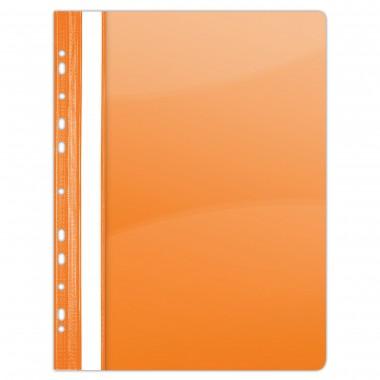 Segtuvėlis su perforacija A4 PP oranž