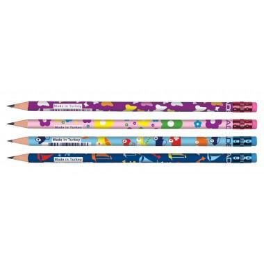 Pieštukas  KIDS su trintuku