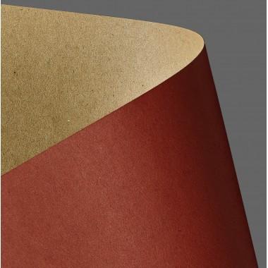Tekst.kartonas KRAFT raudonas,275g 20l