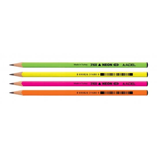 Trikampis pieštukas NEON TRIO