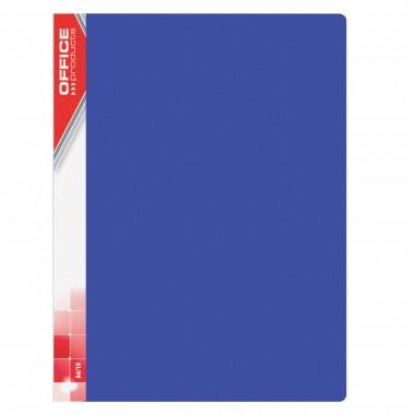 Mėlynas aplankas su 10 įmaučių, A4