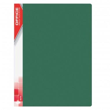 Žalias aplankas su 10 įmaučių, A4