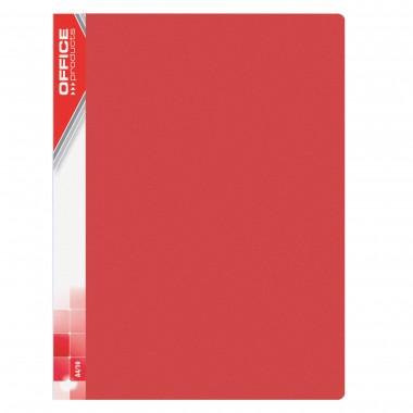Raudonas aplankas su 10 įmaučių, A4