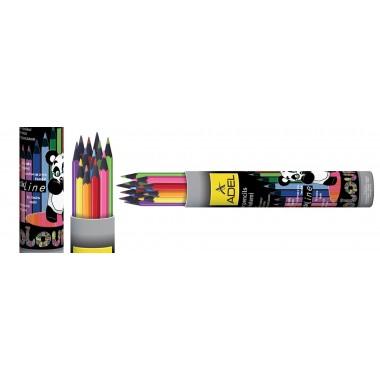 Sp.pieštukai BLACK LINE apval.met.d.12sp