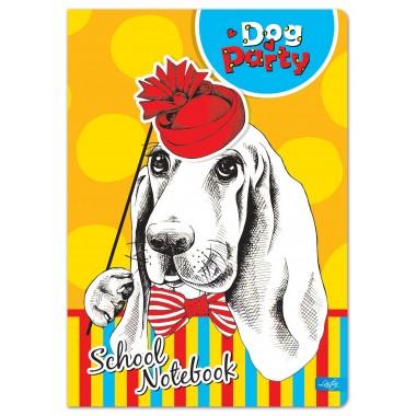 Sąsiuvinis,A5,52l,80g,lin,DOG party KIDS