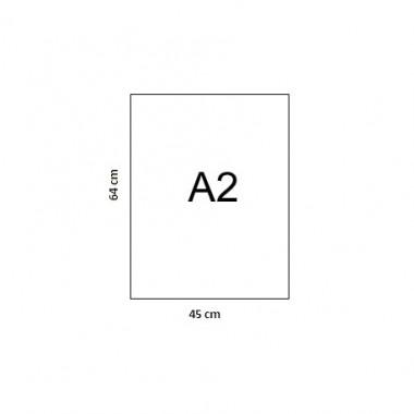 Popierius SERIXO A2/250g 46x64 balt.1lap