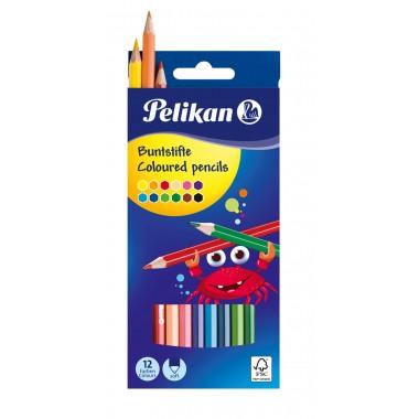 Spalvoti pieštukai 12sp. BS12LN