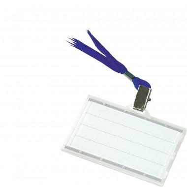 Vardo kortelė su virvele