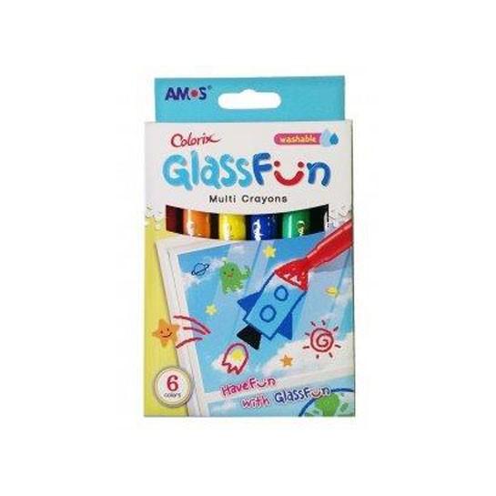 Šilkinės kreidelės stikllui 6sp.CF6P AMO