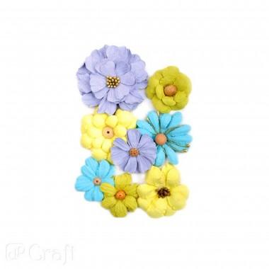Popierinės gėlės LILACC GARDEN, 8vnt.