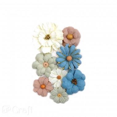 Popierinės gėlės SO IN LOVE, 8vnt.