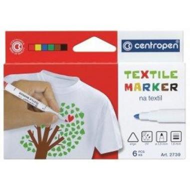 Žymeklių rinkinys tekstilei 6sp.CEN