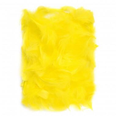 Plunksnos 5-12cm 10g, geltona sp.