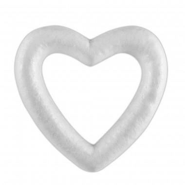 Širdelės iš putų polistirolo 110mm,12vnt