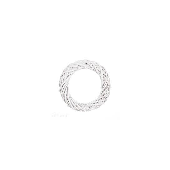 Žiedas 25cm, baltas