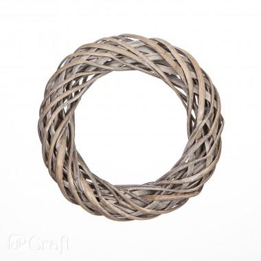 Žiedas 25cm, pilkas