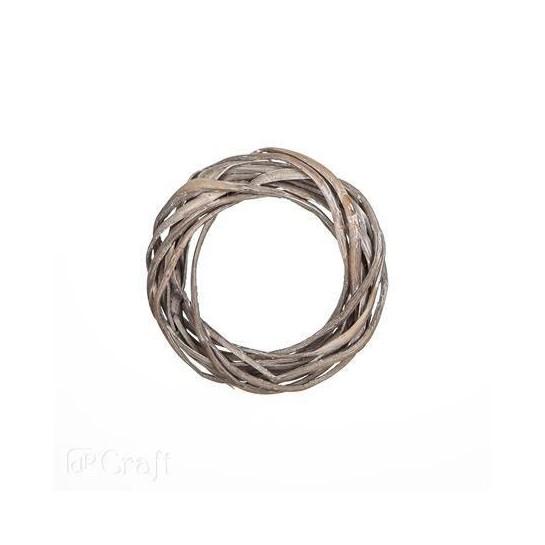 Žiedas 15cm, pilkas