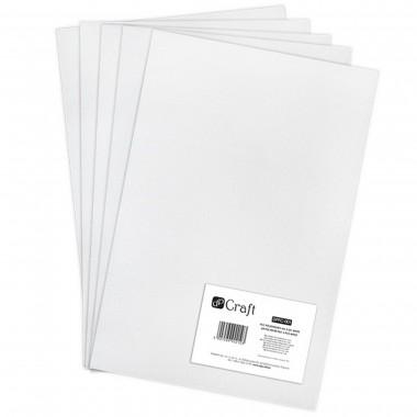 Veltinis iš poliesterio, A4,5lap.,WHITE