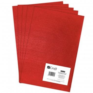 Veltinis iš poliesterio, A4,5lap.,RED
