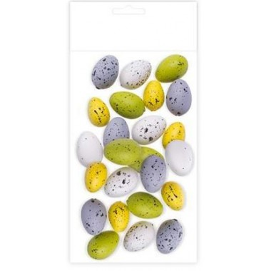 Kiaušiniai, 24vnt., 3.5x2.5cm
