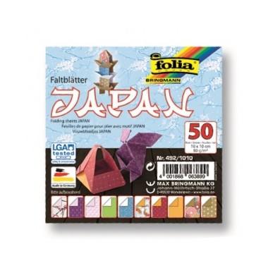 Origami 10x10/50l Folia Japan