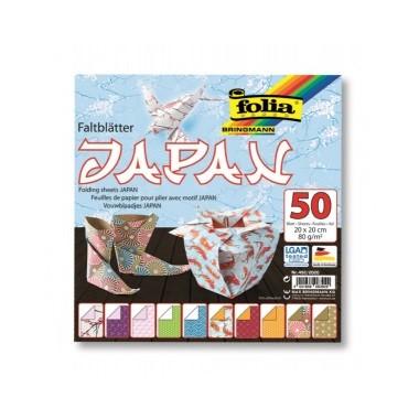 Origami 20x20/50l Folia Japan