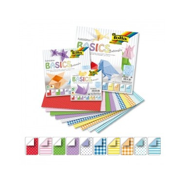 Origami 10x10/50l Folia Basic
