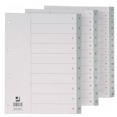 Skiriamieji lapai, PP, A4, 1-10, pilki