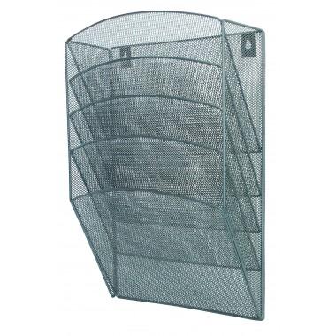 Metalinis 5-ių dalių lentynėlių stovas S