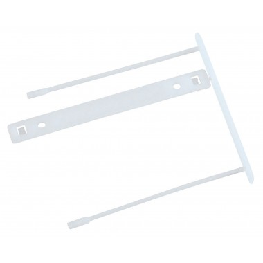 Archyvinis segtukas Z-clip 7cm,baltas