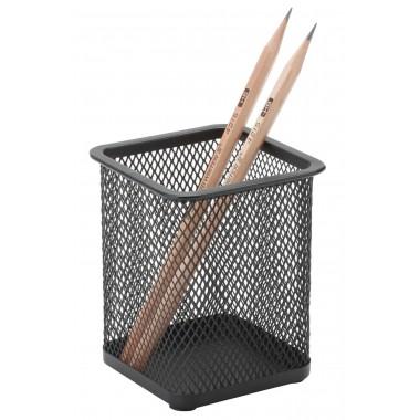 Metalinė, kvadratinė pieštukinė juoda