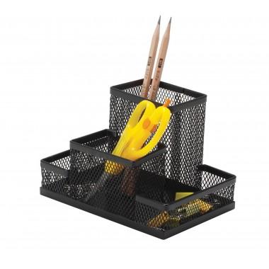 Metalinė pieštukinė 153x103x100mm, juoda