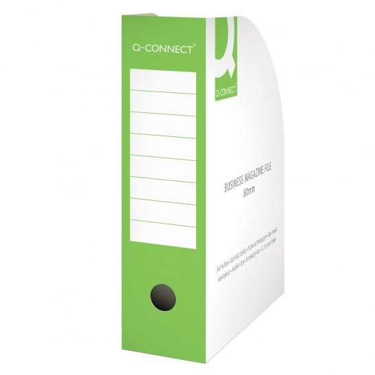 Stovas brošiūroms 80mm žalias