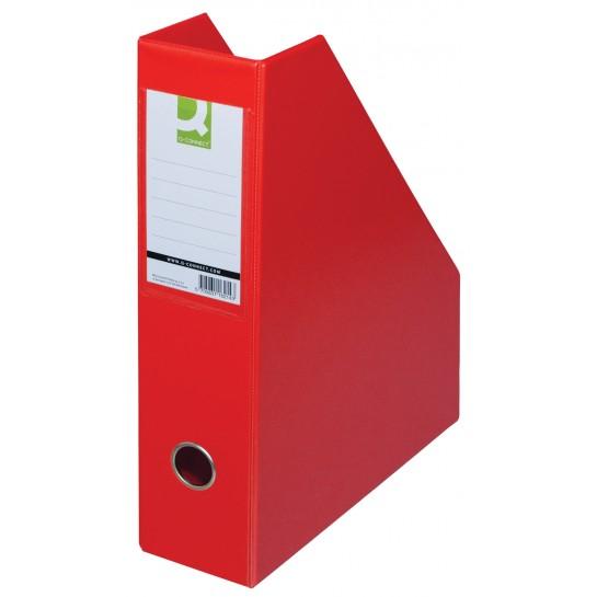 Stovas brošiūroms PVC raudonas