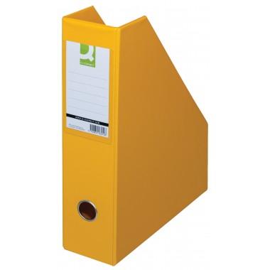 Stovas brošiūroms PVC geltona