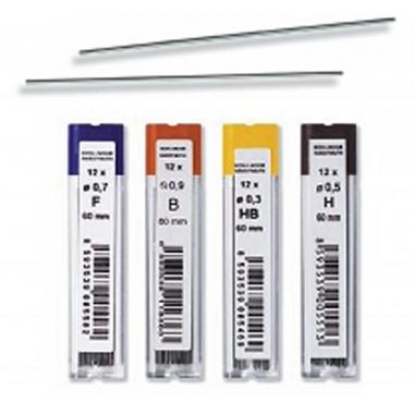 Grafitukai KOH-I-NOOR 0.5mm 2B