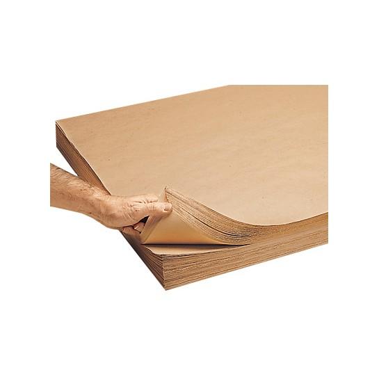 Kraft popierius100g105x126mm rudas linij