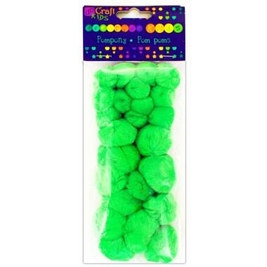 Akriliniai burbuliukai, ŽALI, 24vnt.